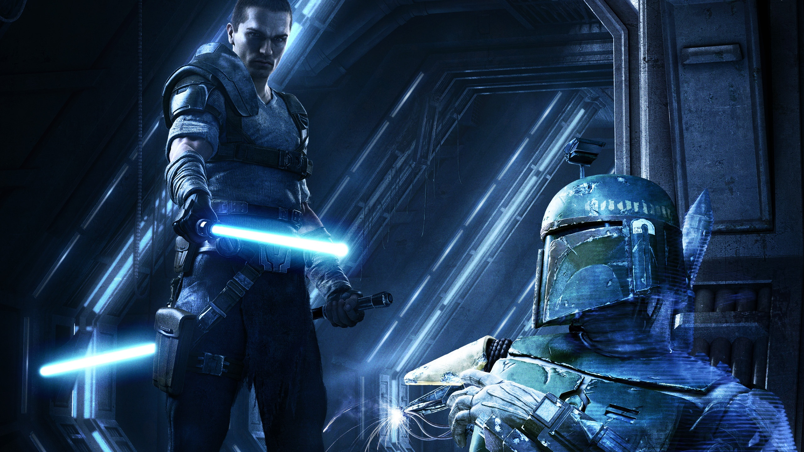 2560x1440 star wars force unleashed 2