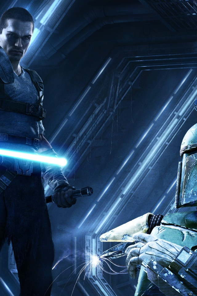 640x960 Star Wars Force Unleashed 2 Iphone 4 Wallpaper