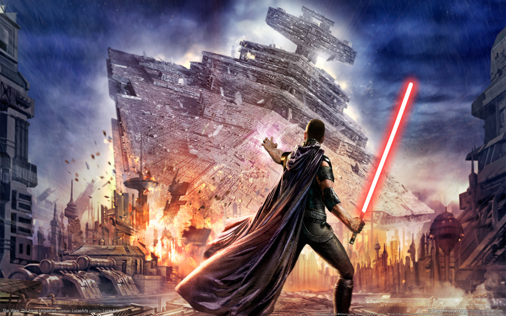1920x1200 Star Wars: Force Unleashed desktop PC and Mac ...