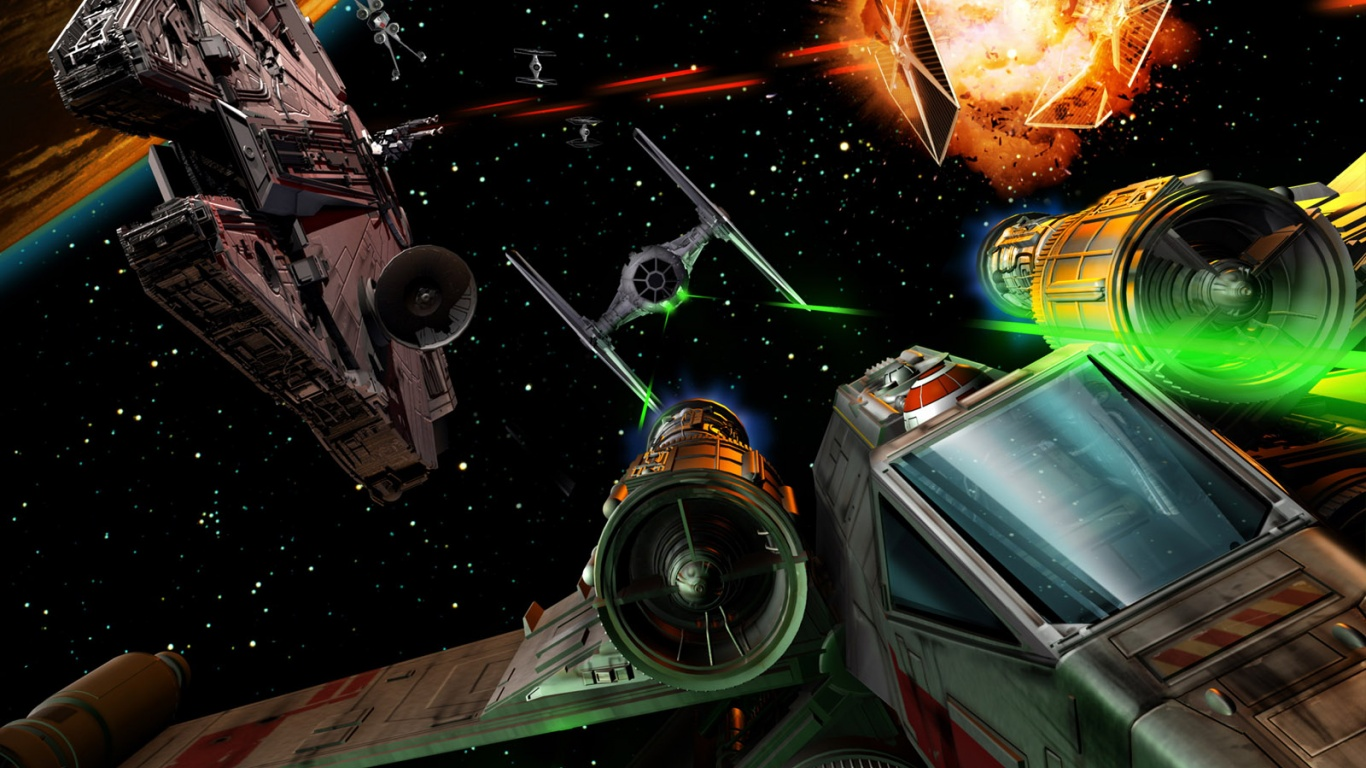 1366x768 star wars: galaxies desktop pc and mac wallpaper