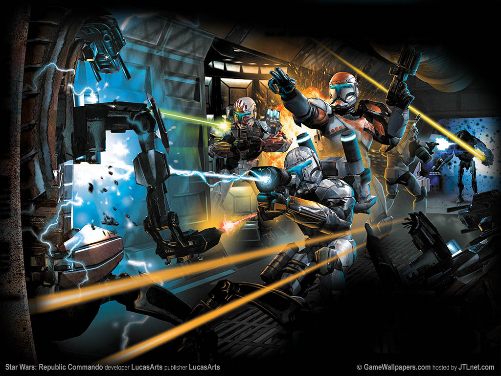 1024x768 star wars republic commando desktop pc and mac wallpaper