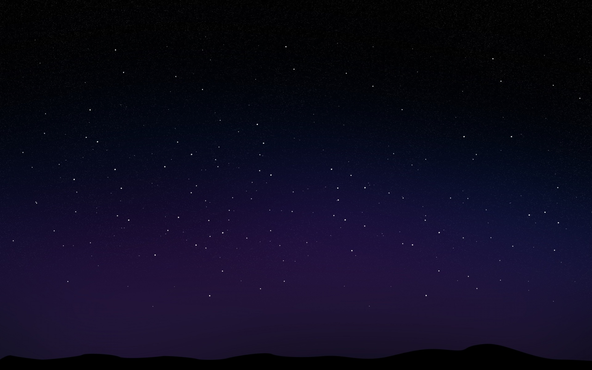 1920x1200 starry night sky desktop pc and mac wallpaper