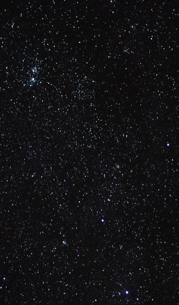 600x1024 starry sky, stars, space, nigh