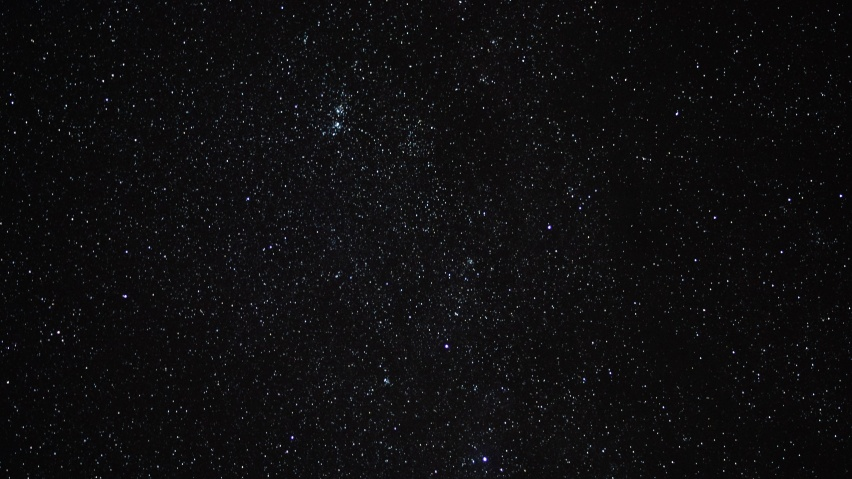852x480 starry sky, stars, space, nigh
