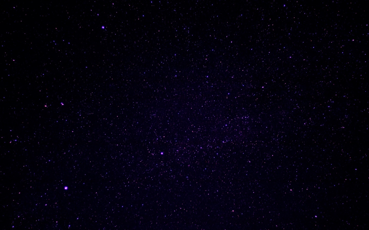 1440x900 starry sky, stars, universe desktop pc and mac wallpaper