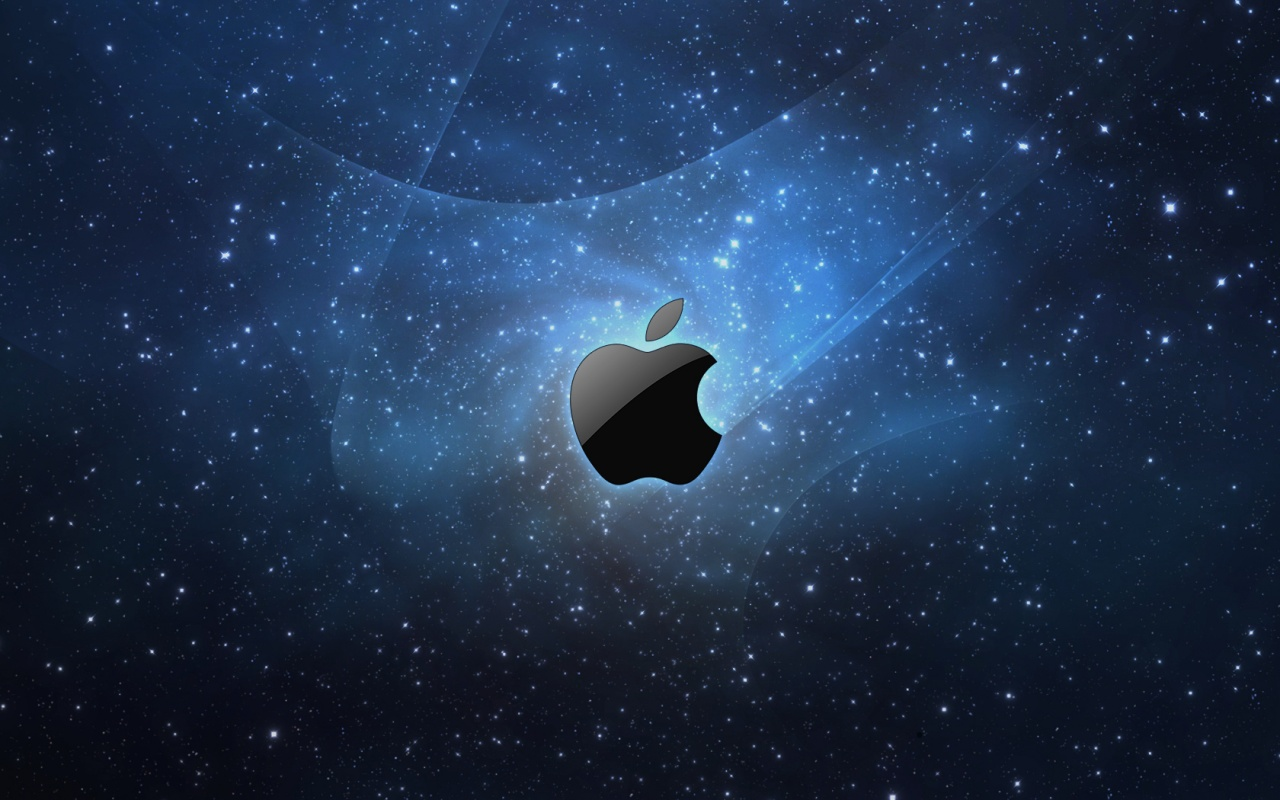 1280x800 stars and apple desktop pc and mac wallpaper
