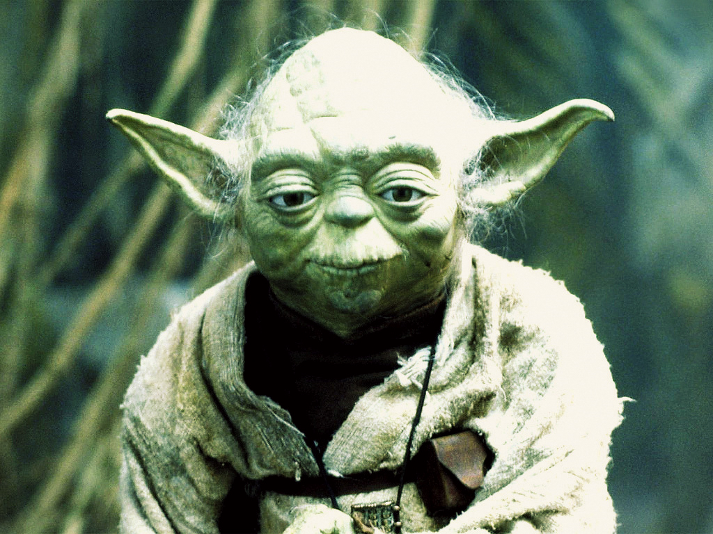 1024x768 starwars v yoda desktop pc and mac wallpaper