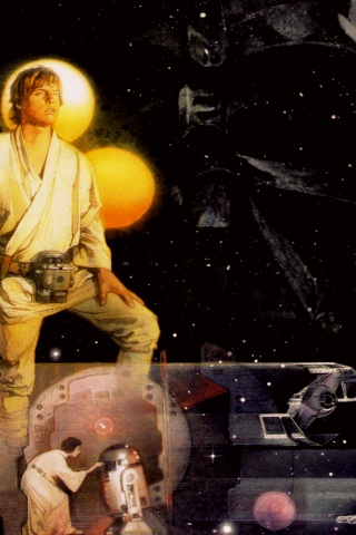 320x480 Starwars A New Hope Cover Iphone 3g Wallpaper