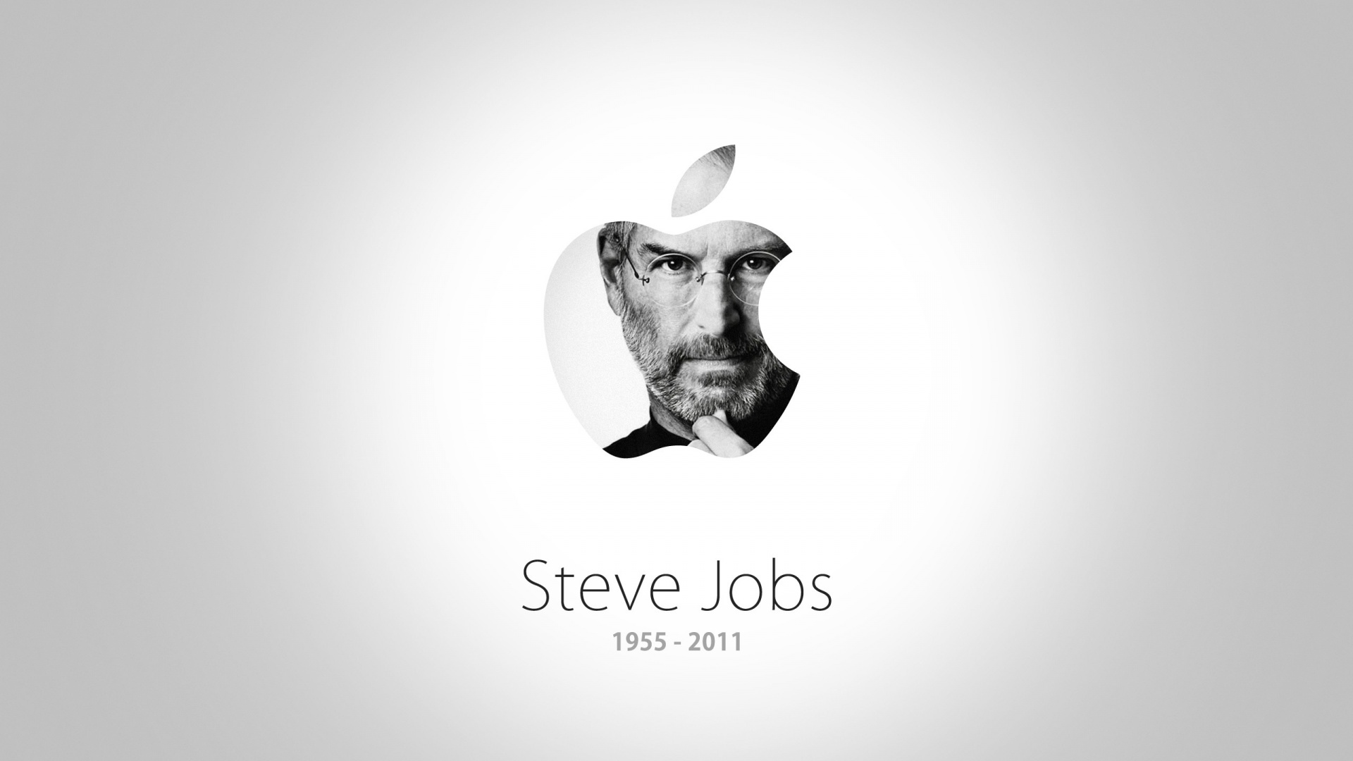 Steve Jobs Apple Logo Wallpaper 79302 | WEBNODE