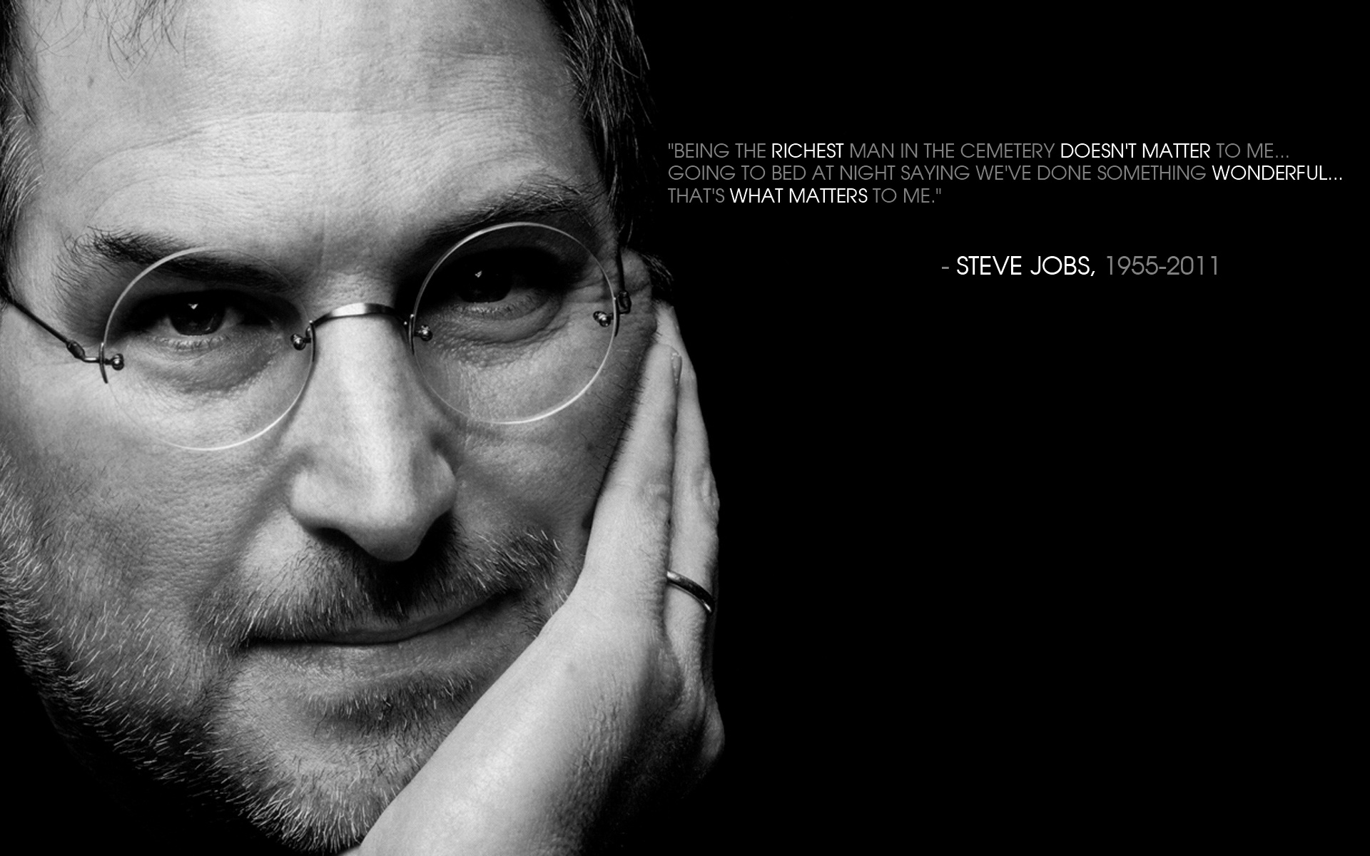 Steve Jobs Quote Wallpapers Steve Jobs Quote Stock Photos