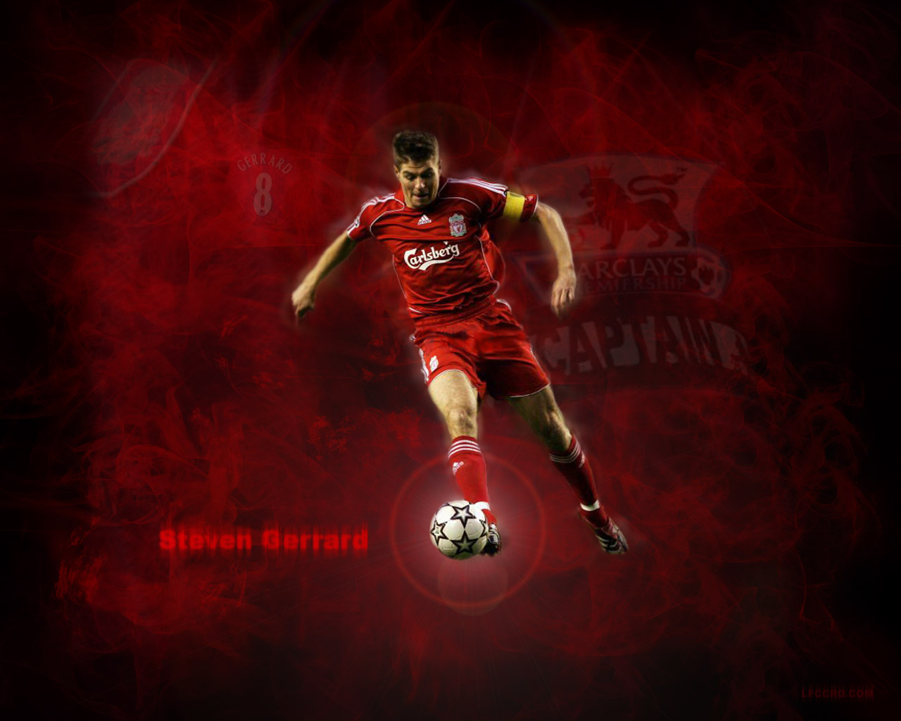 1280 Steven Gerrard desktop wallpapers and stock photos