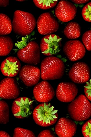 320x480 Strawberries