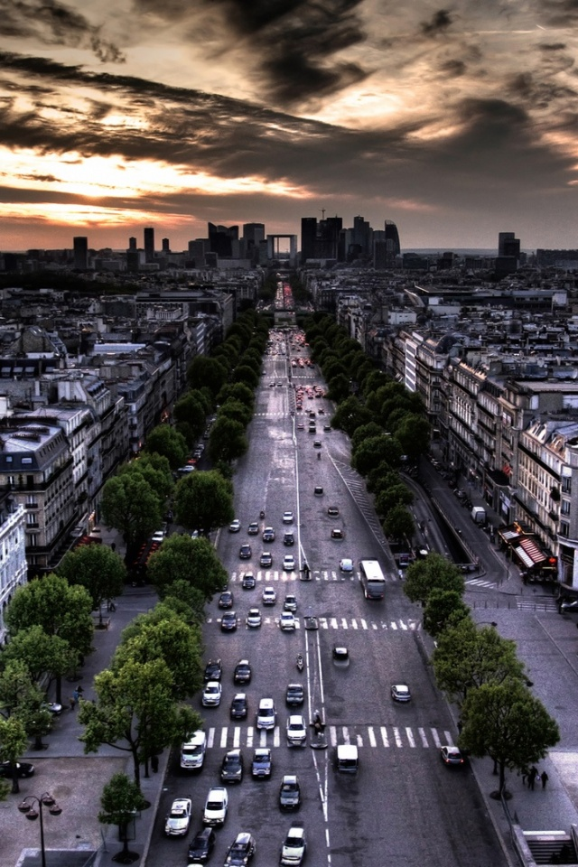 640x960 Streets Of Paris Desktop Pc And Mac Wallpaper