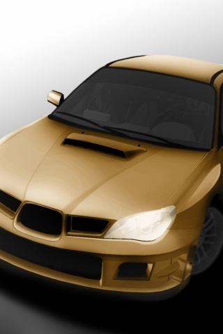 320x480 Subaru Impreza Wrx Sti Iphone 3g Wallpaper