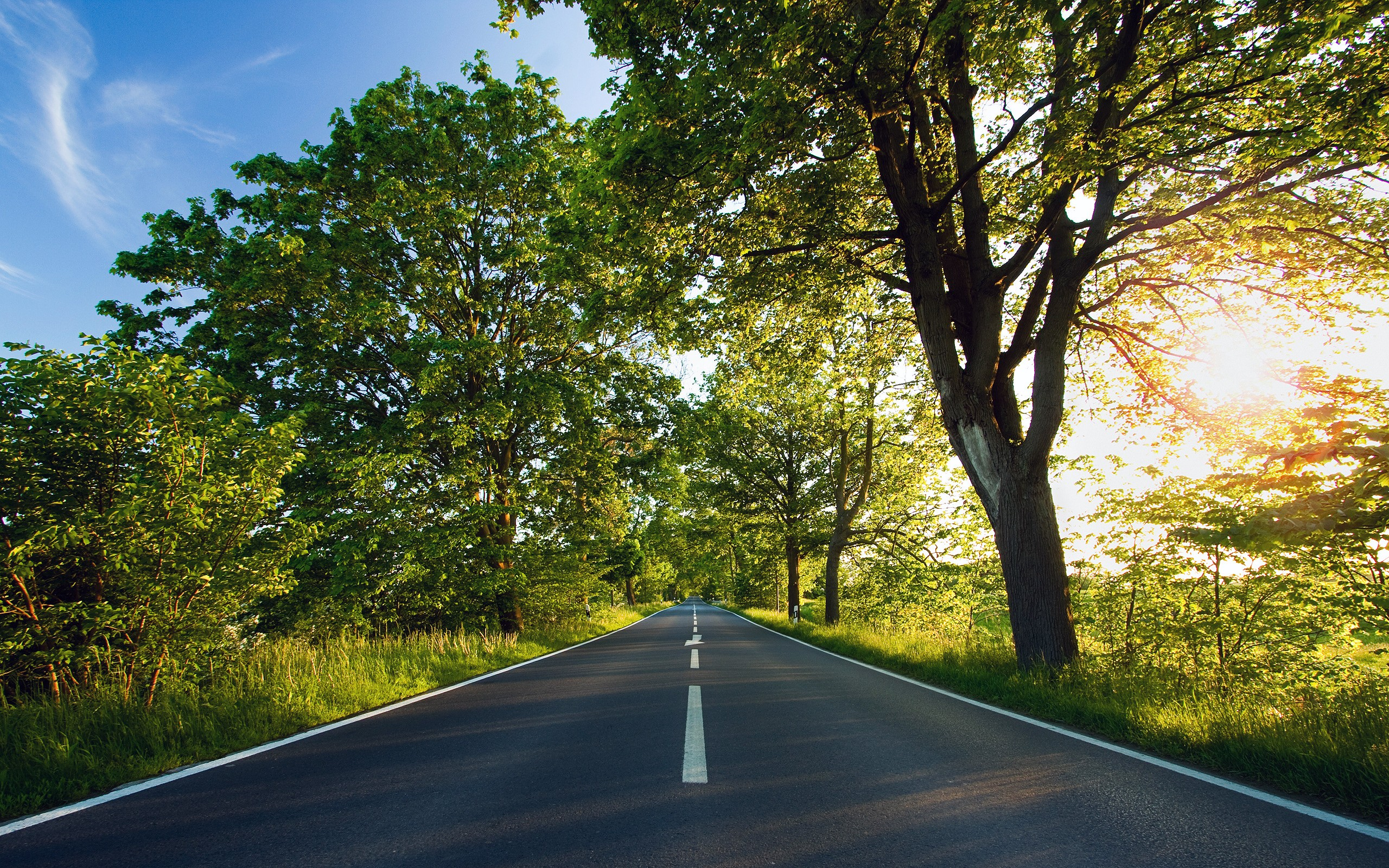 Image Summer Road Wallpapers And Stock Photos