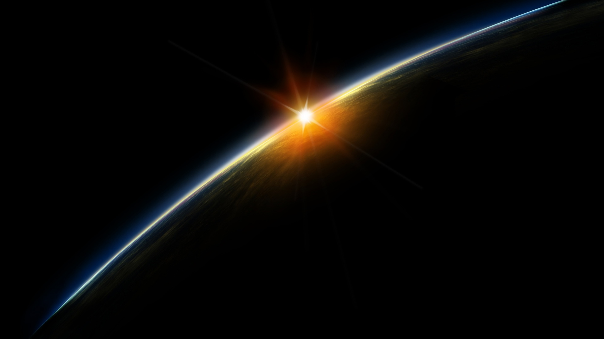 space station sunrise wallpaper - photo #4