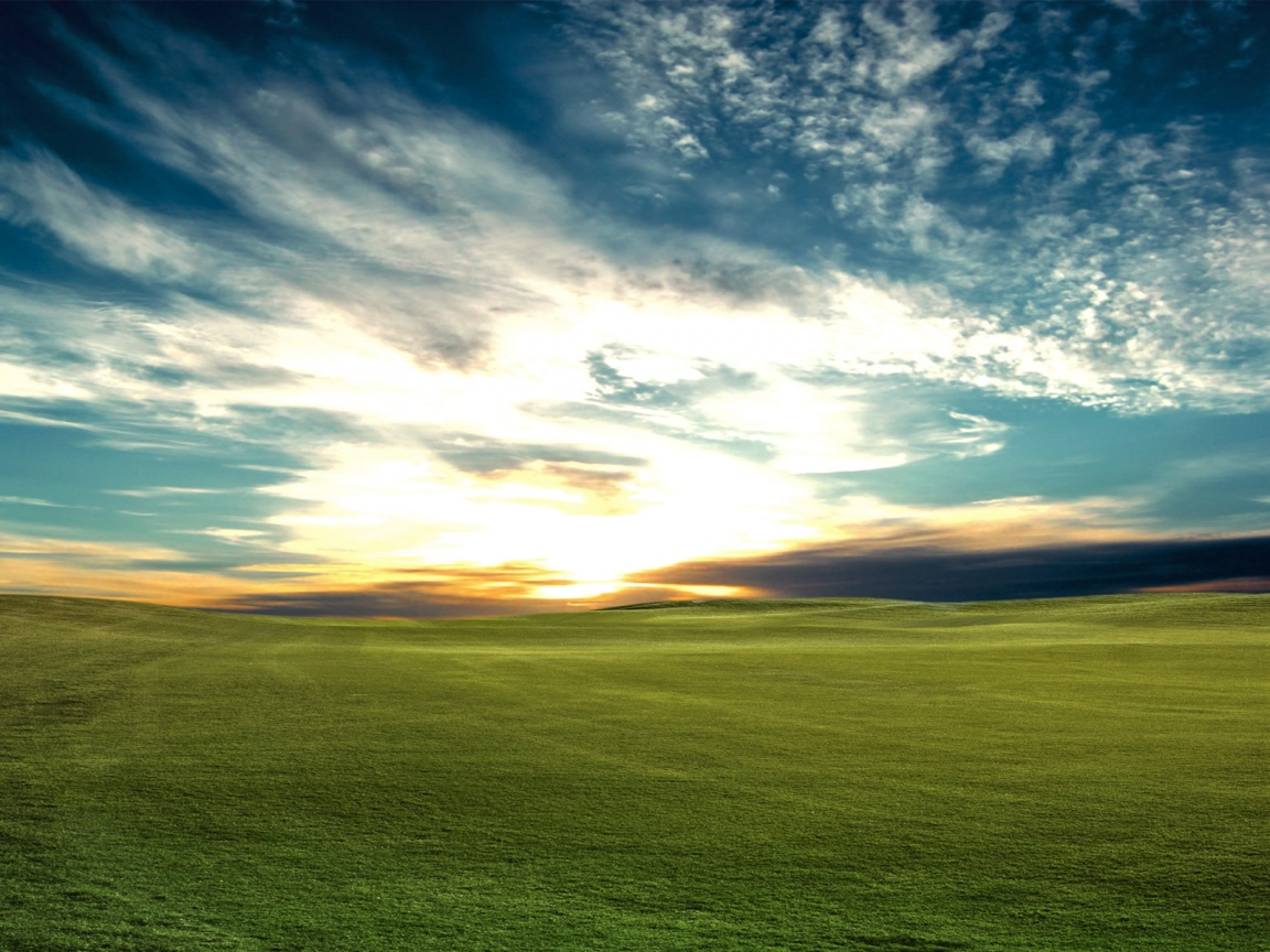 1152x864 Sunset Bliss Desktop PC And Mac Wallpaper