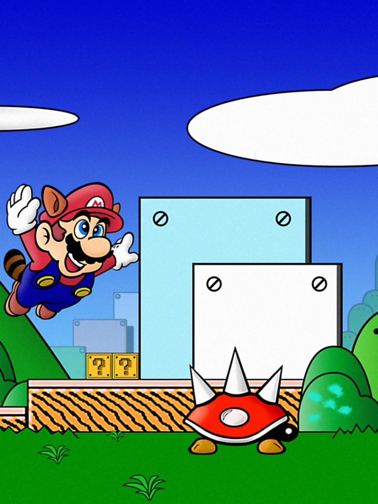Super mario wallpaper for ipad