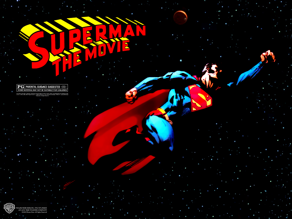 1024x768 Superman: the movie