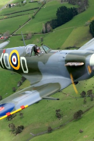 320x480 Supermarine Spitfire Mk Vb Iphone 3g wallpaper