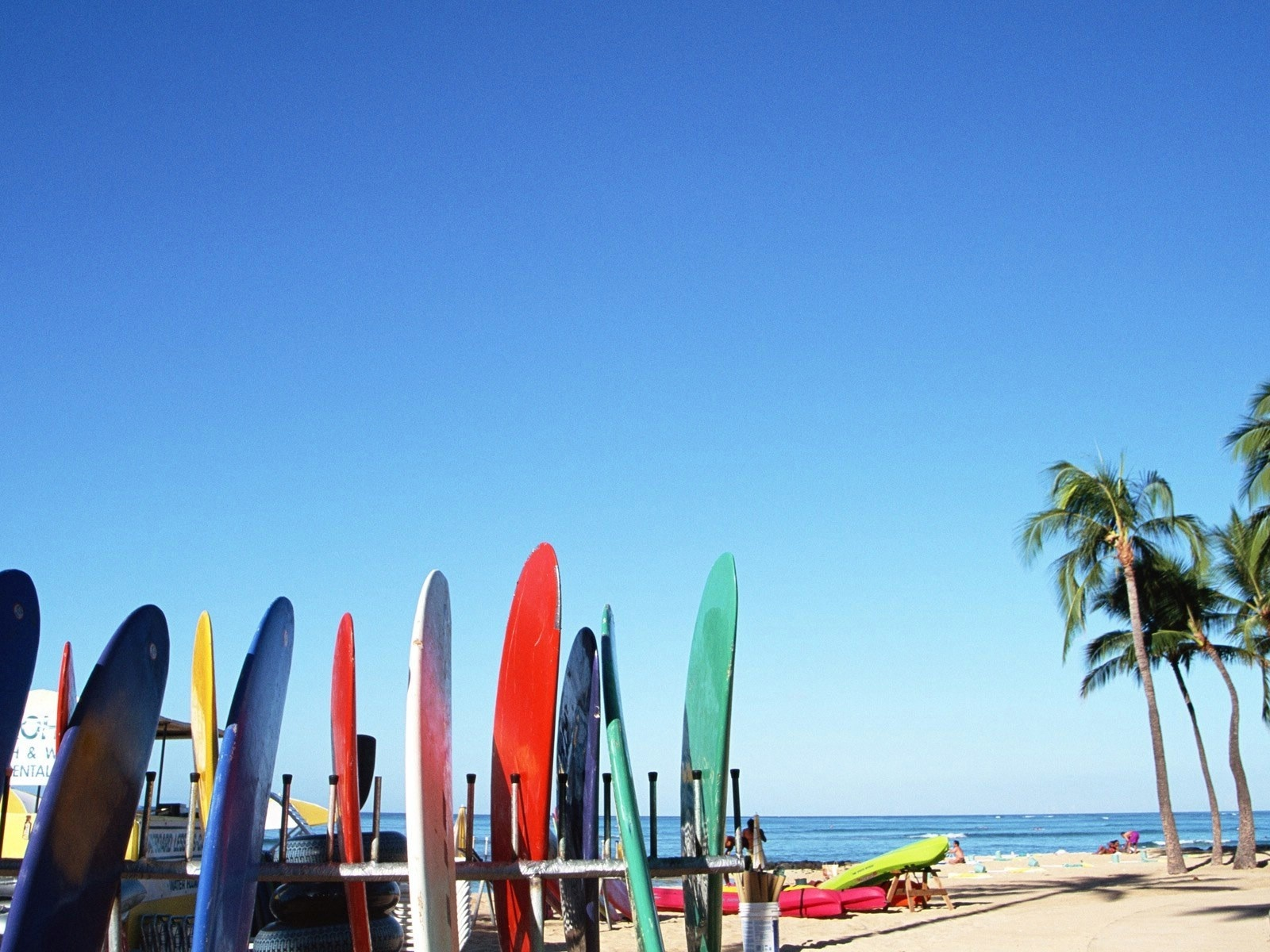 1600x1200 Surf Boards Desktop Pc And Mac Wallpaper