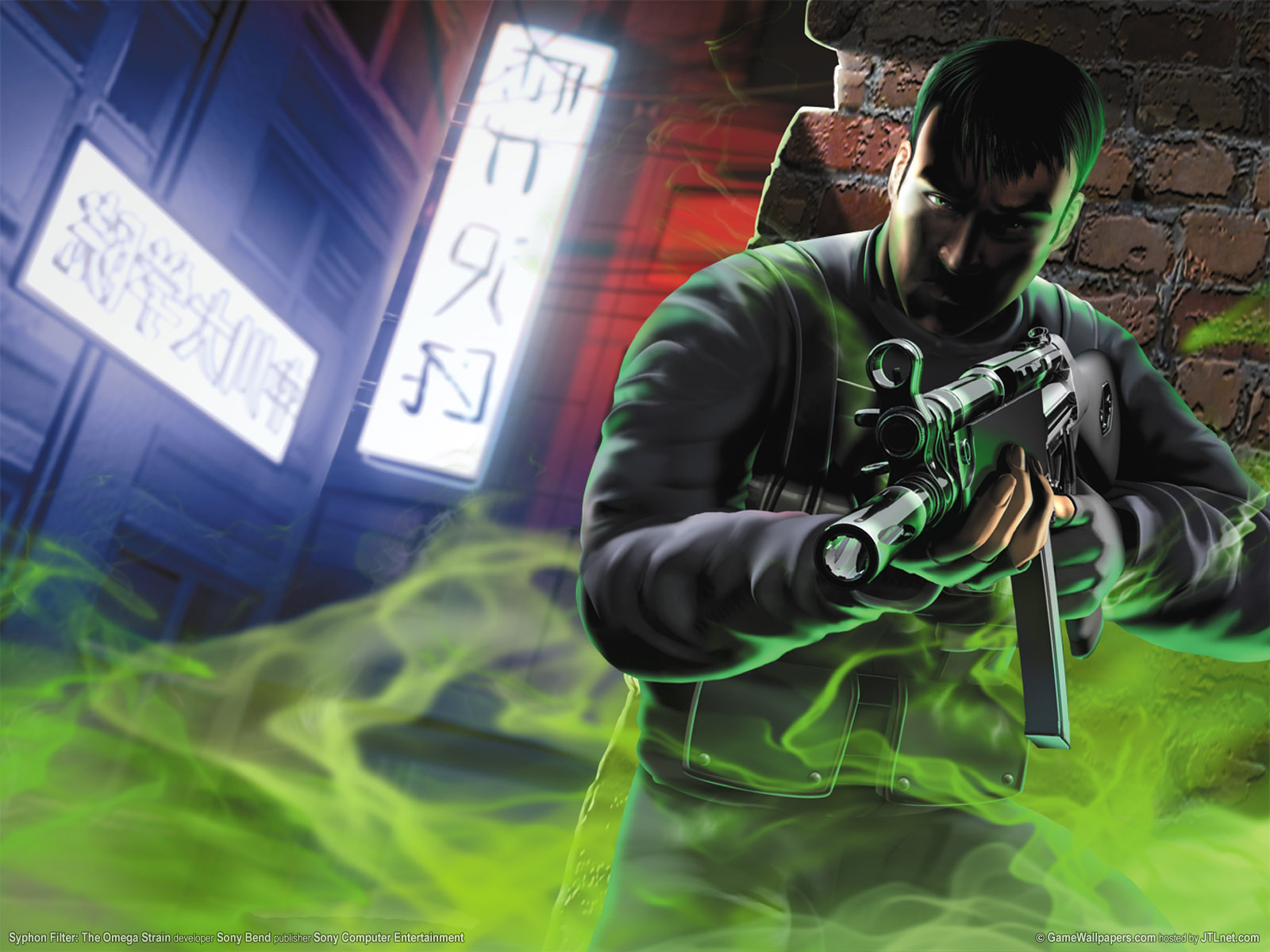 Syphon Filter: Omega Strain wallpapers | Syphon Filter