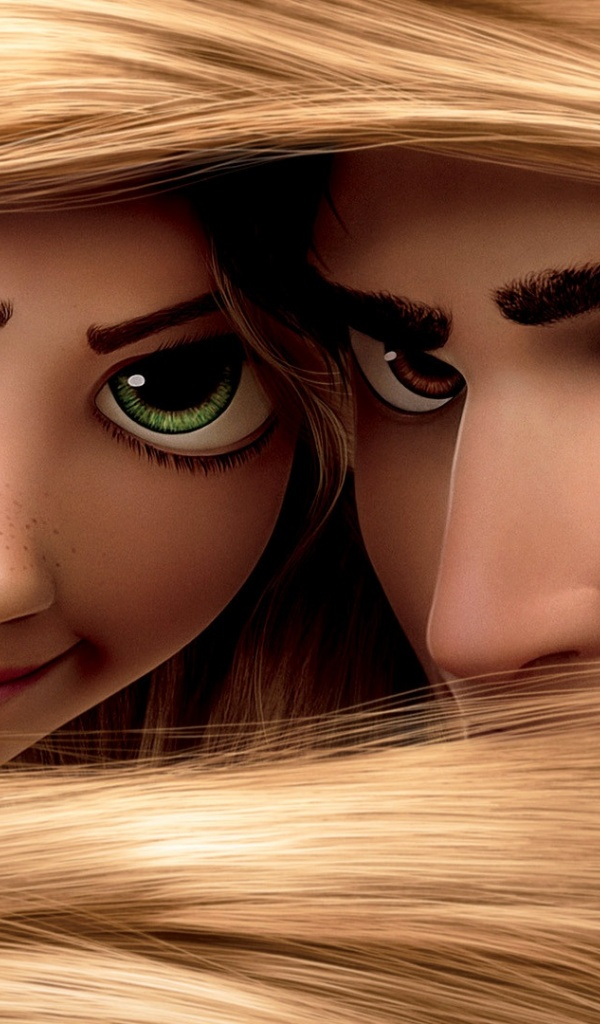 600x1024 Tangled Disney, movie, video