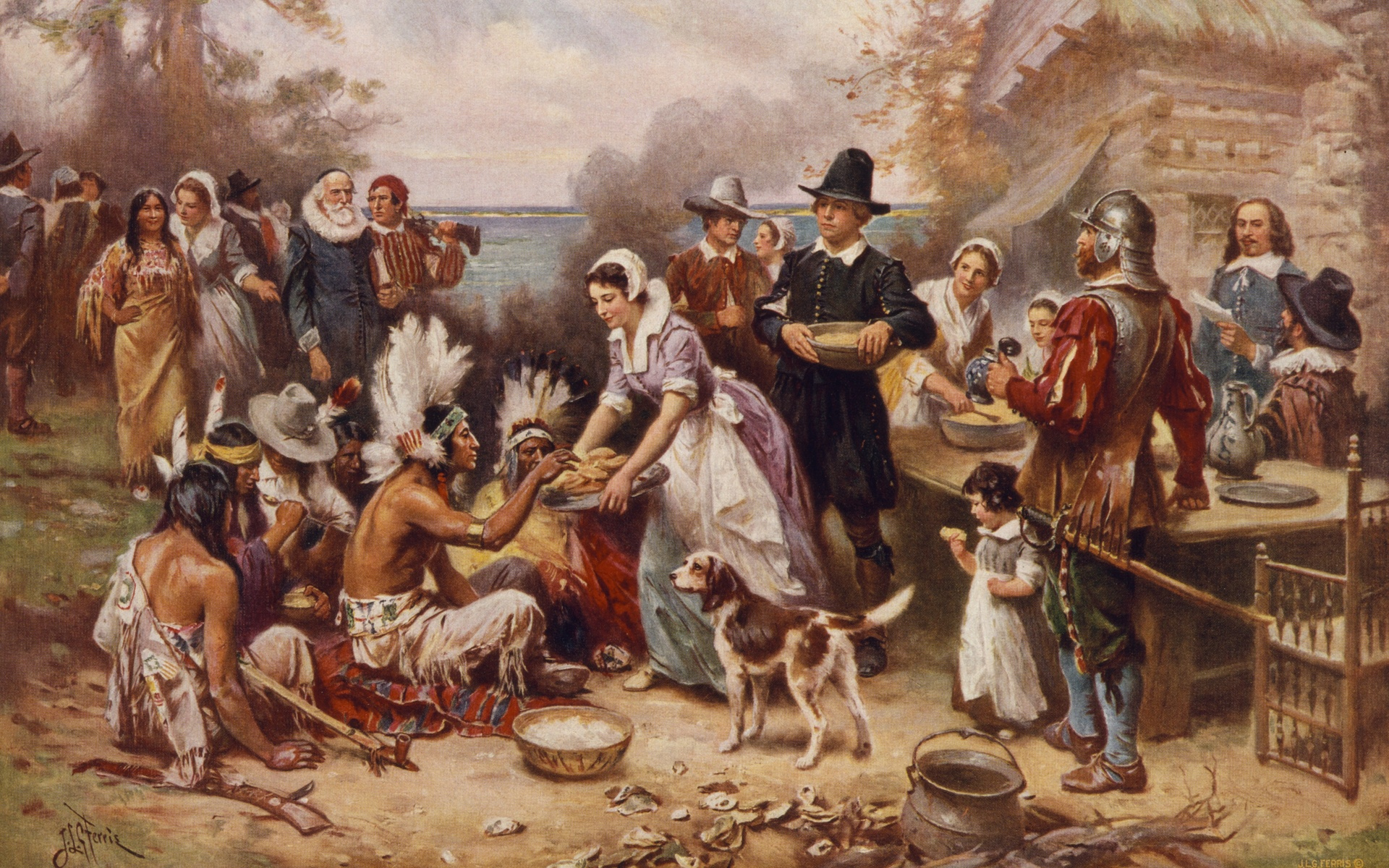 the history of thanksgiving essay