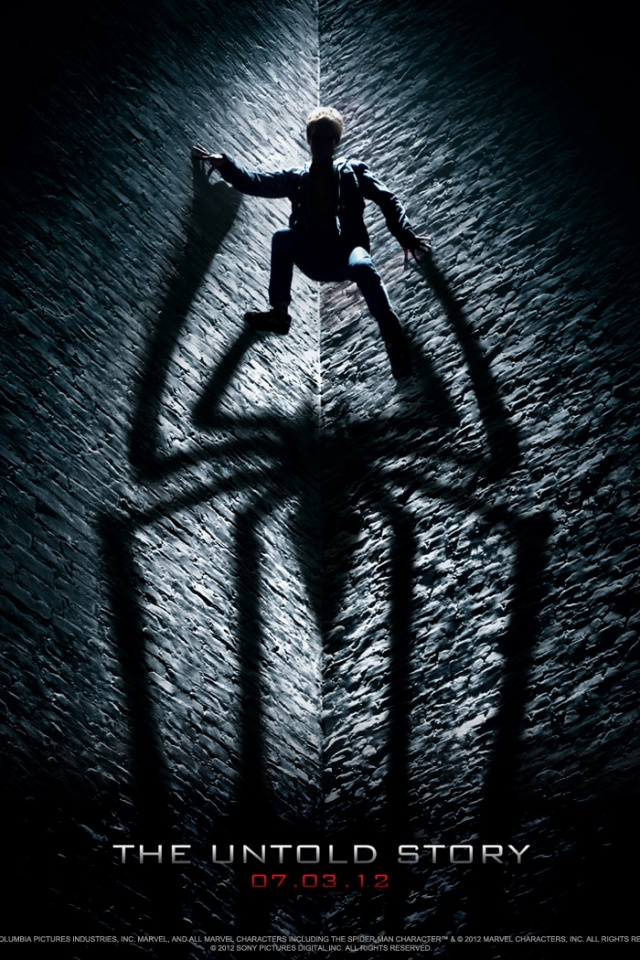 640x960 The Amazing Spider Man Official Iphone 4 Wallpaper