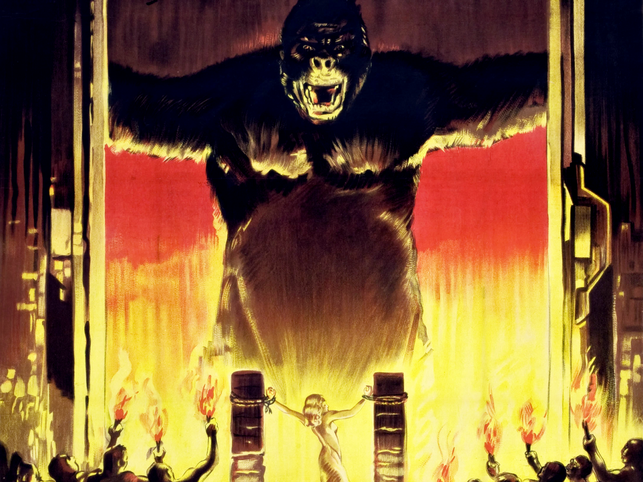"an analysis of the film king kong and its characters Critical analysis: kong: it's a movie about ""king"" kong on — for all intents and purposes but the character development is weak enough you don't."
