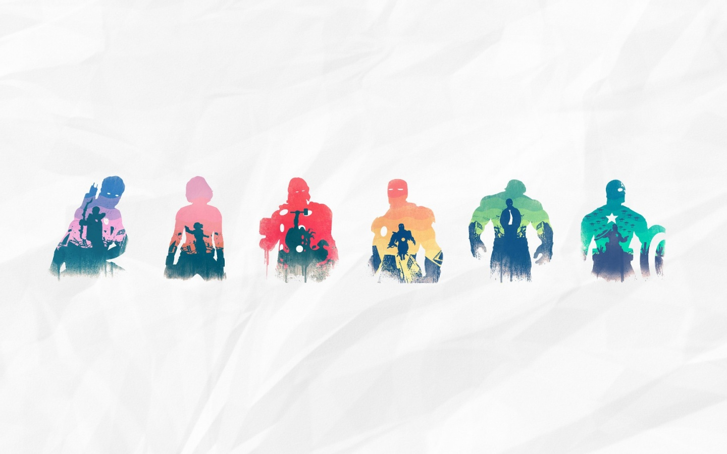 1440x900 the avengers silhouettes desktop pc and mac wallpaper