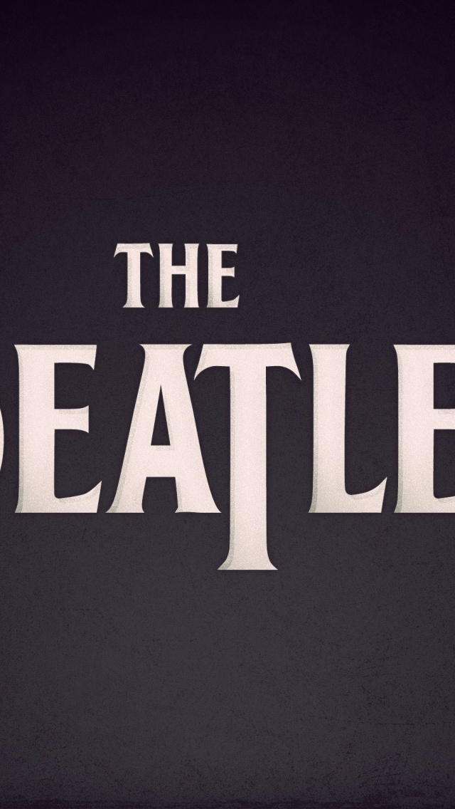 640x1136 The Beatles Iphone 5 Wallpaper