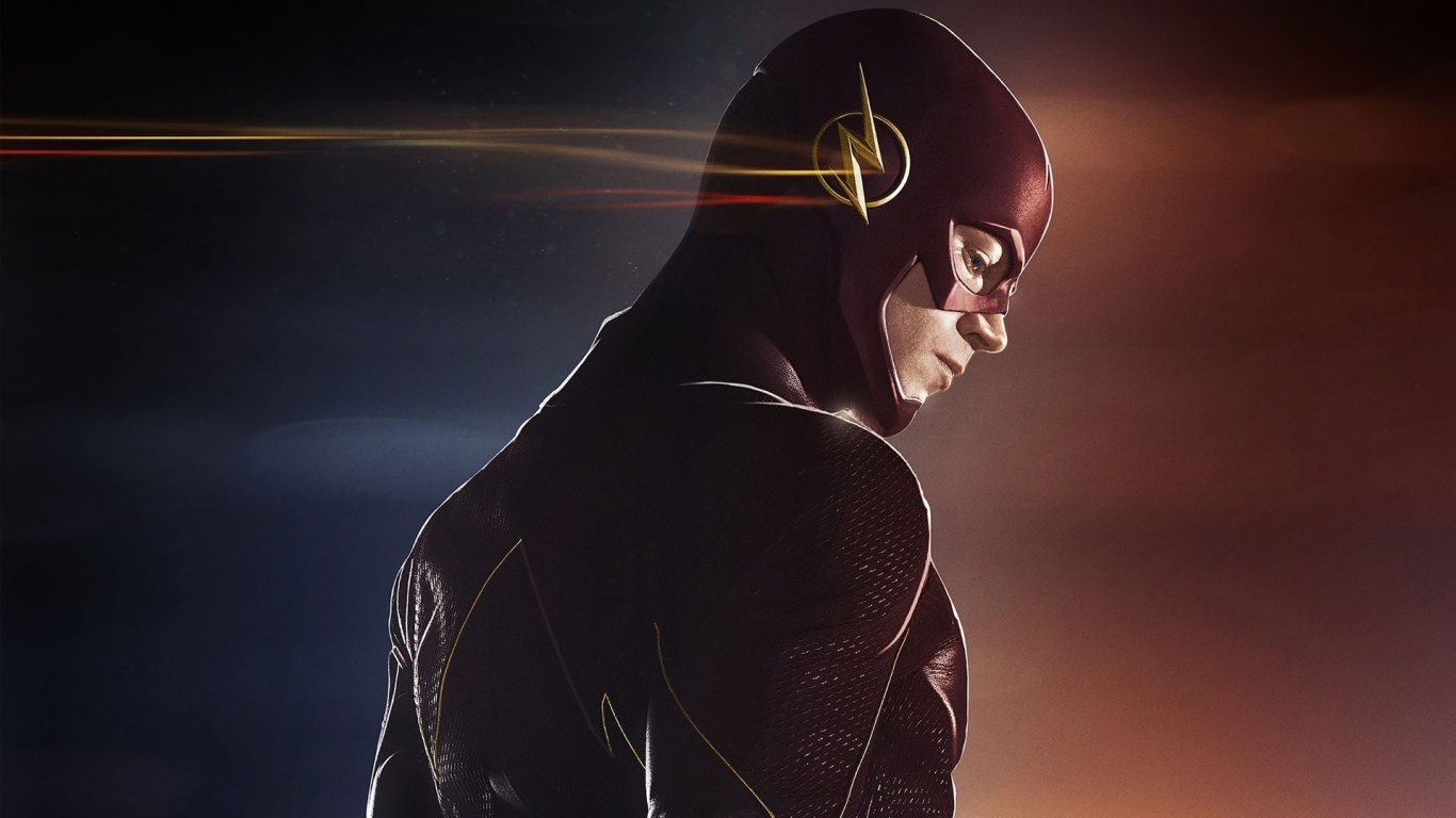 1366x768 The Flash Tv Show Desktop Pc And Mac Wallpaper
