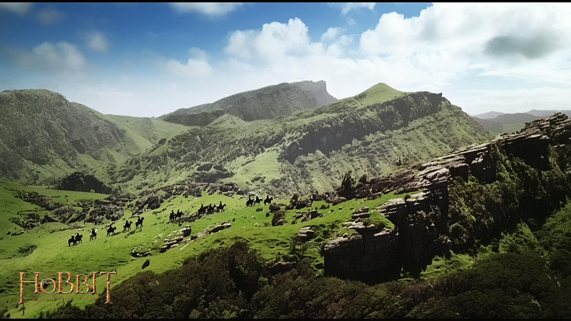 new movie wallpaper: 1920x1080 the hobbit landscape desktop pc and