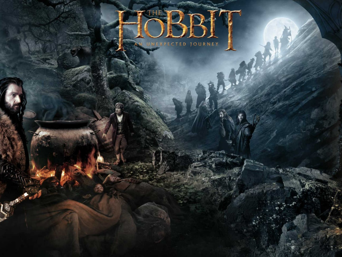 The Hobbit: An Unexpected Journey desktop PC and Mac wallpaper