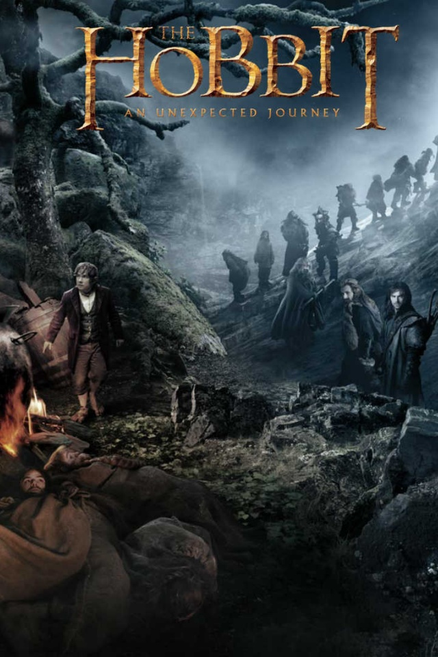 640x960 The Hobbit An Unexpected Journey Iphone 4 Wallpaper