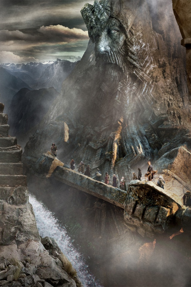 640x960 The Hobbit The Desolation Of Smaug Scenery Iphone 4 Wallpaper