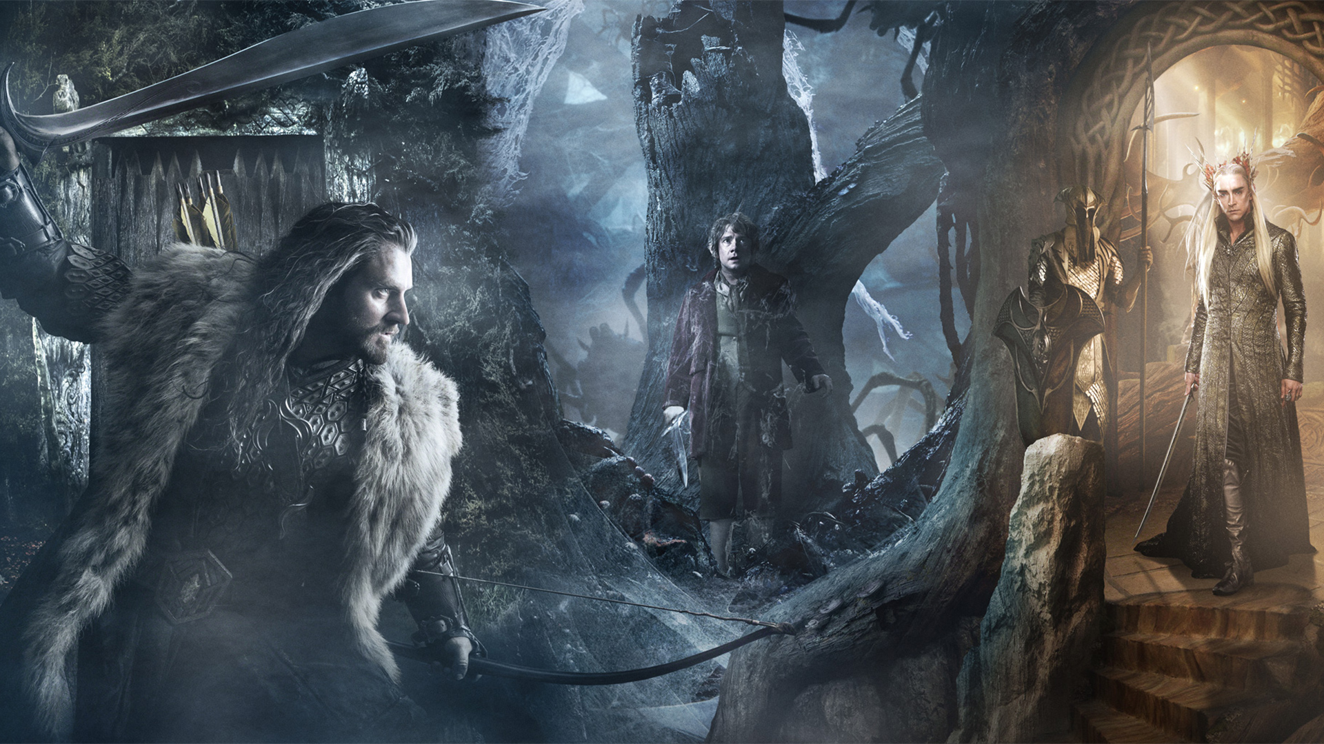 1920x1080 The Hobbit Desolation Of Smaug Trio Desktop PC And Mac Wallpaper