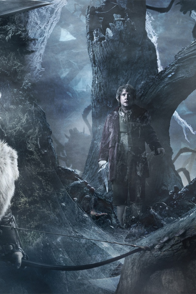 640x960 The Hobbit The Desolation Of Smaug Trio Iphone 4 Wallpaper