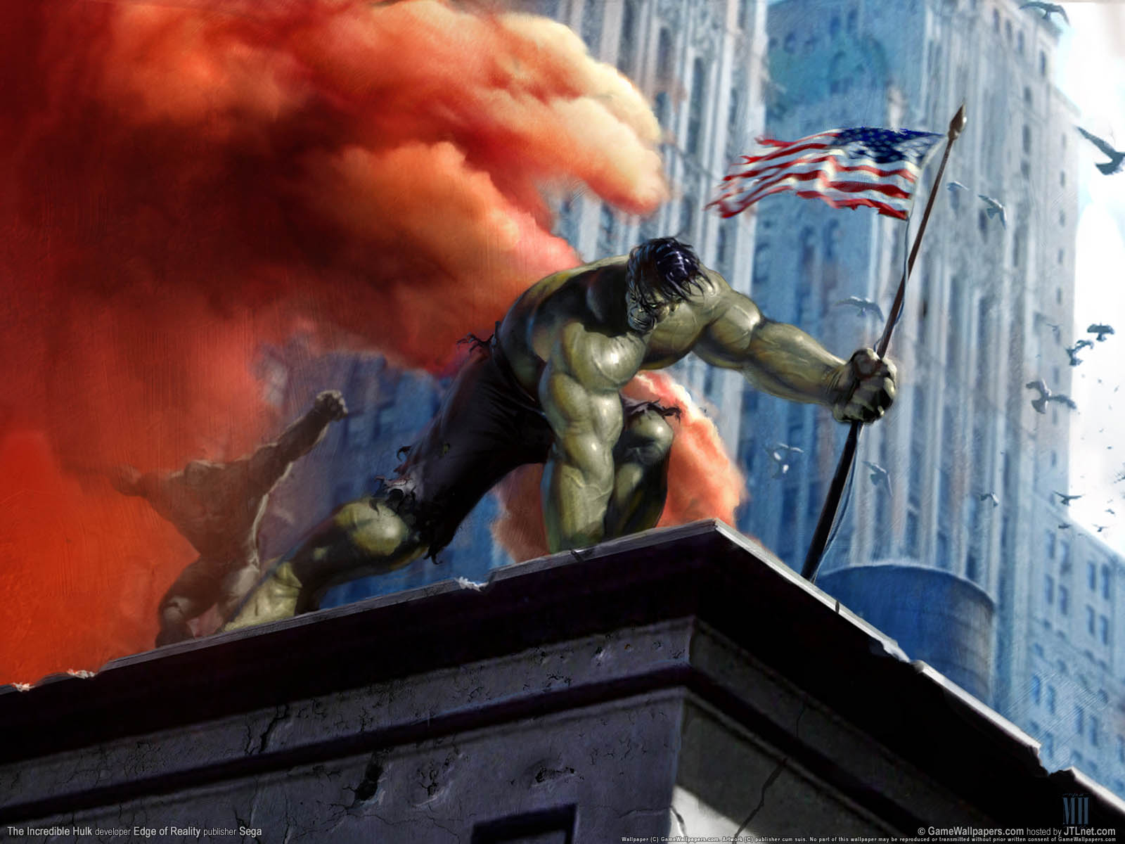 1600x1200 The Incredible Hulk desktop PC and Mac wallpaper