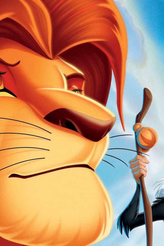 640x960 The Lion King Hd Iphone 4 Wallpaper