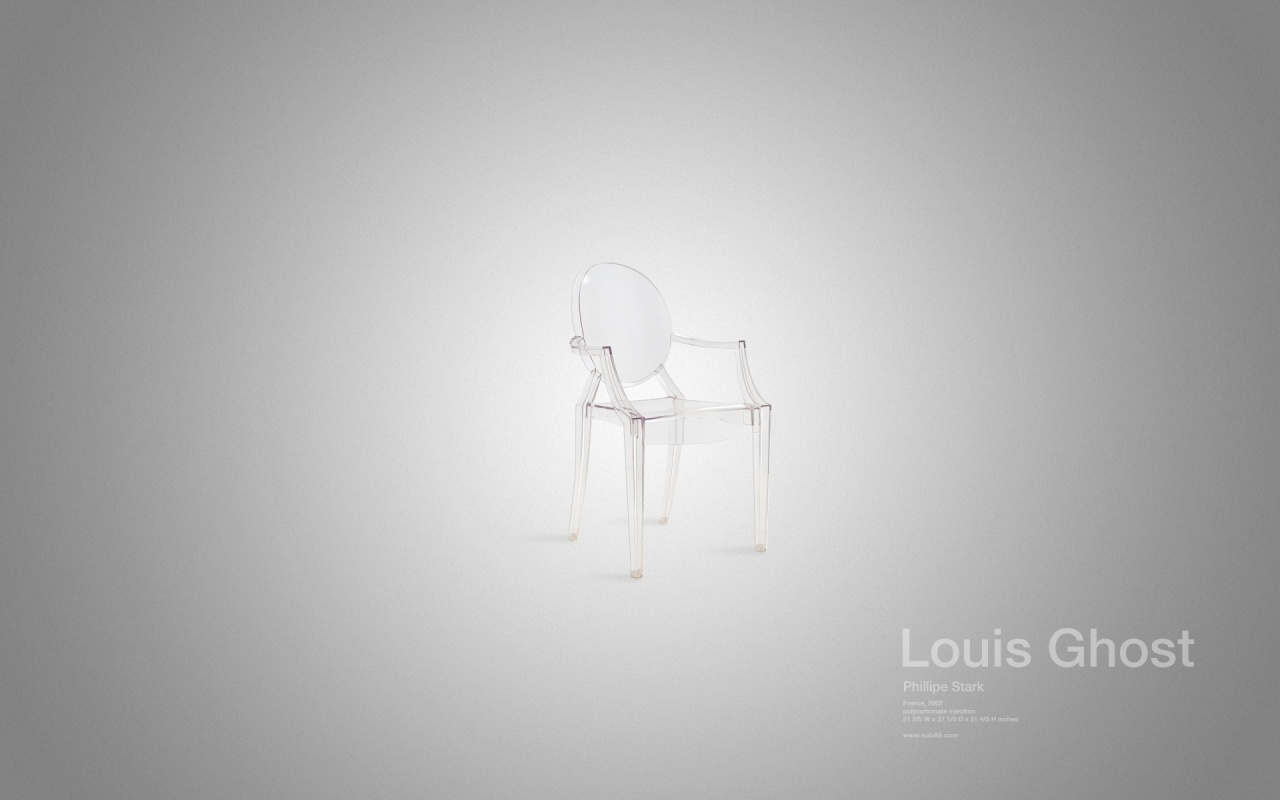 1280x800 the louis ghost chair desktop pc and mac wallpaper. Black Bedroom Furniture Sets. Home Design Ideas