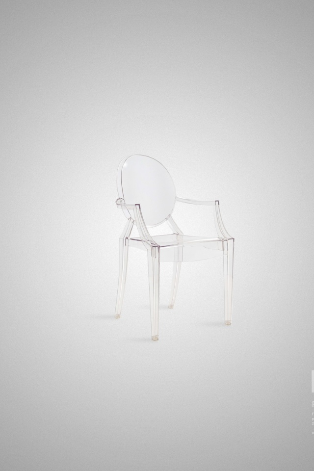 640x960 the louis ghost chair desktop pc and mac wallpaper. Black Bedroom Furniture Sets. Home Design Ideas