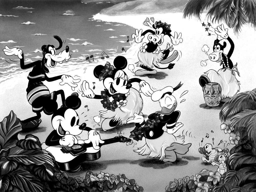 1024x768 The Mickey Mouse Gang Desktop Pc And Mac Wallpaper