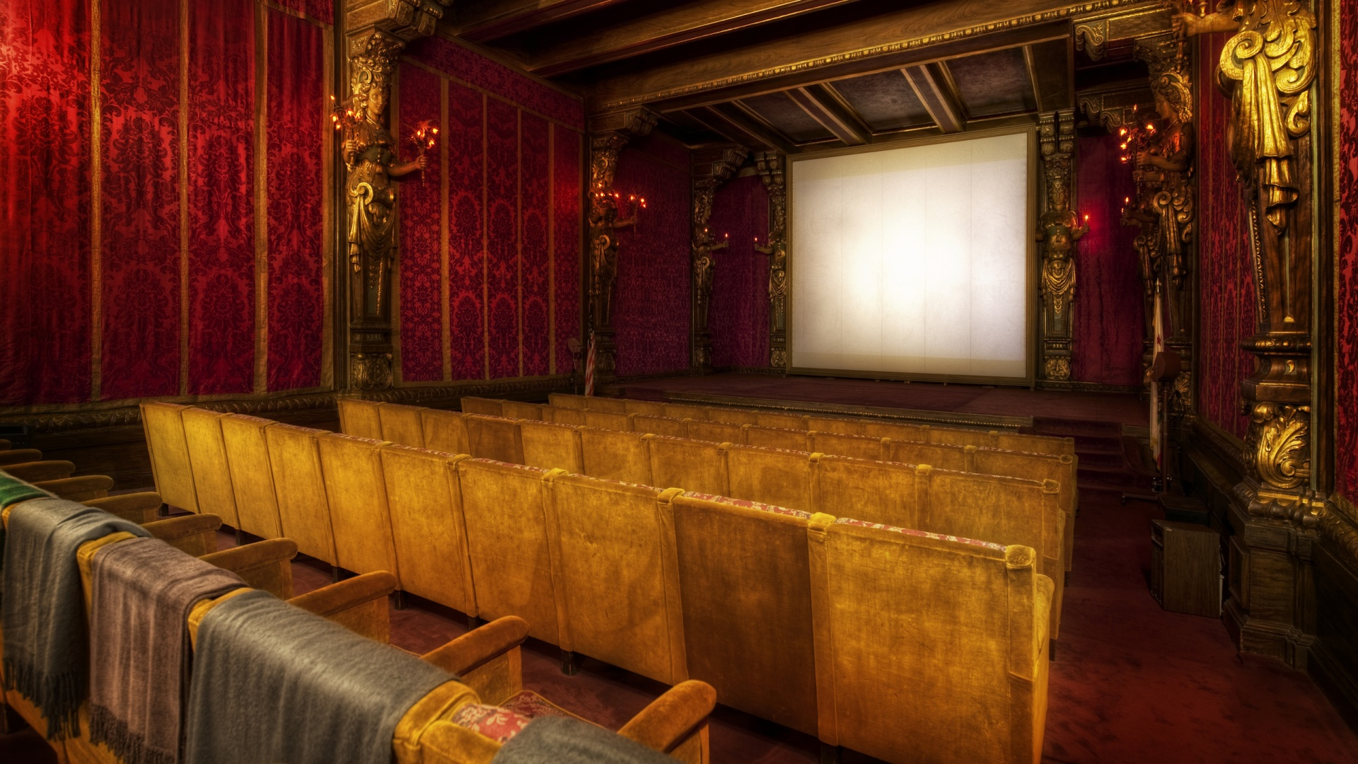 1920x1080 The Movie Theater At Hearst Desktop Wallpapers