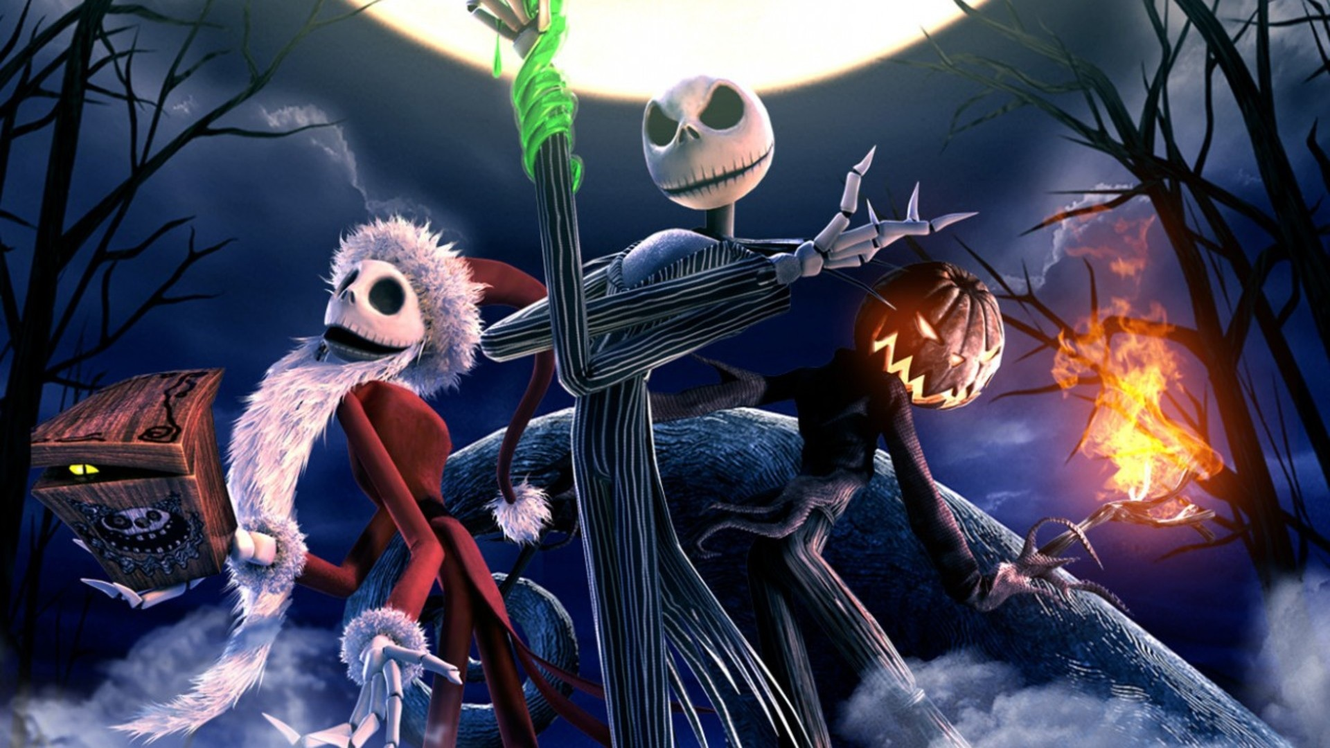 1920x1080 The Nightmare Before Christmas Skeletons desktop PC and ...