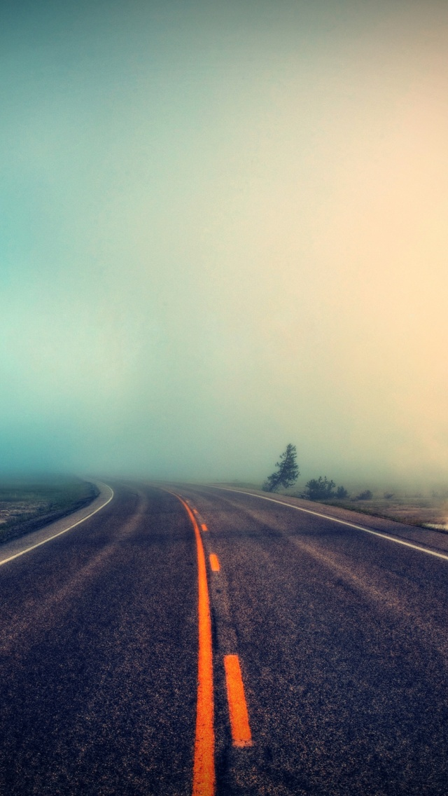 640x1136 The Road Iphone 5 Wallpaper