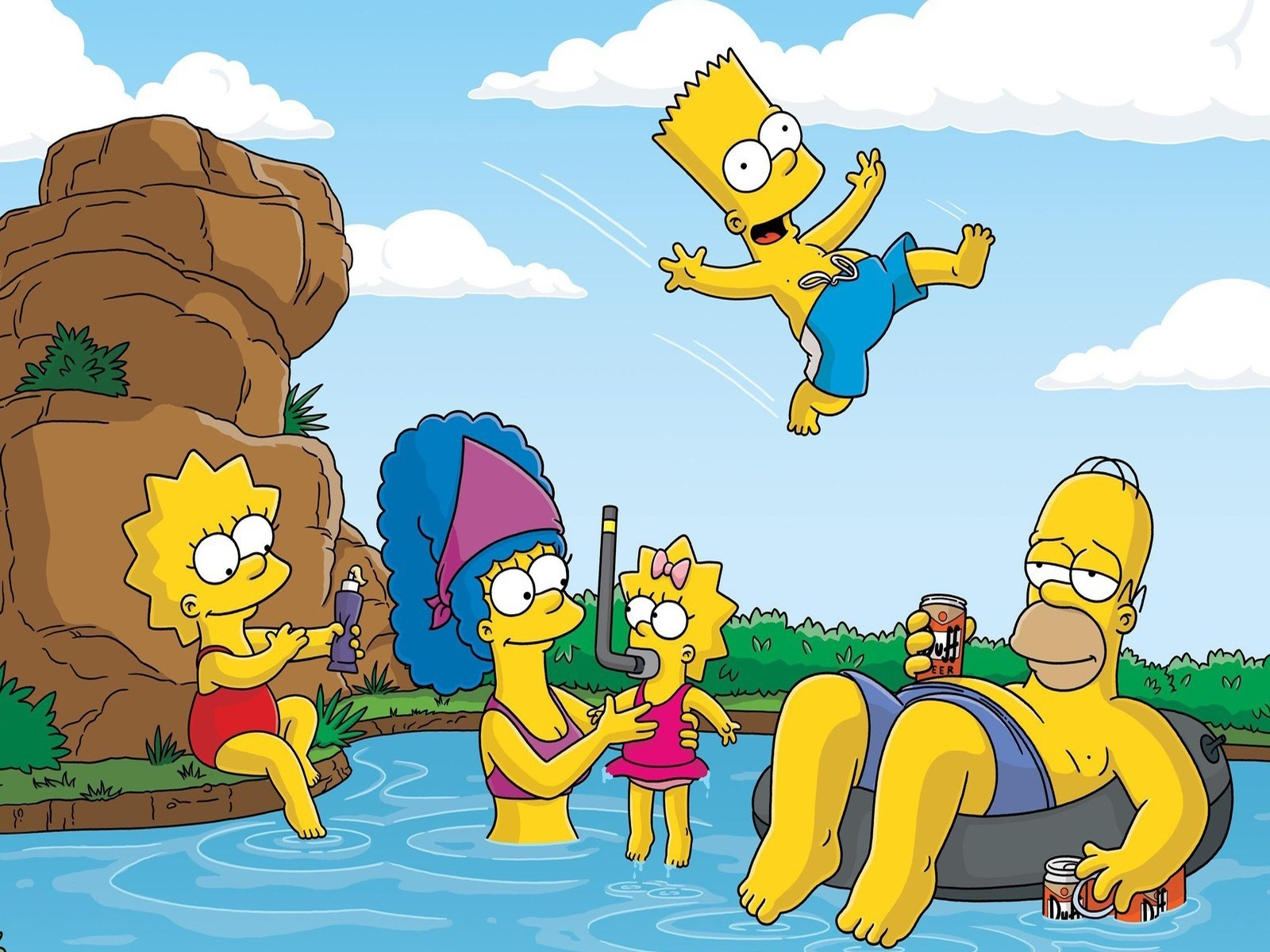 HD Wallpapers The Simpsons - The Simpsons Family | The Simpsons ...