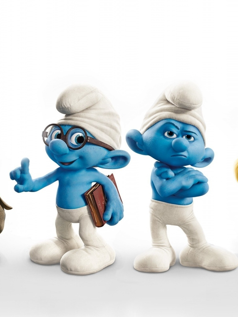 768x1024 the smurfs 2 ipad mini wallpaper