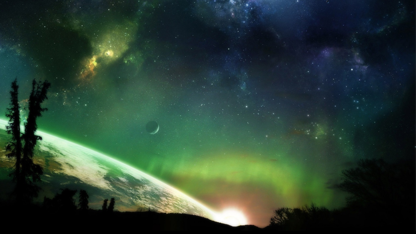 1366x768 the space desktop pc and mac wallpaper for Space wallpaper 1366x768